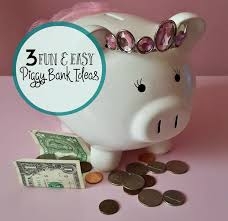 3 fun and easy piggy bank ideas
