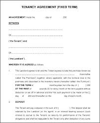 Standard Rental Agreement Template Printable Lease Agreement Template Download Them Or Print