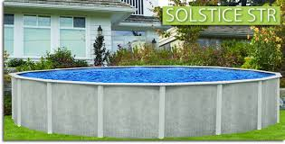 solstice str above ground swimming pool affordable above ground swimming pools i50