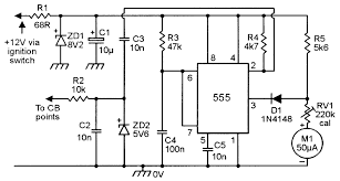 555 monostable circuits nuts volts magazine for the the meter can be made to frequencies up to 10s of mhz by feeding the input signals to the 555 via a digital divider