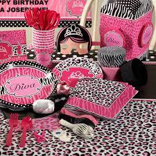 Leopard Print Party Decorations Zebra Party Decorations Party Favors Ideas