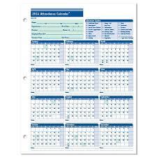 Absentee Calendar Attendance Calendar Template 2014 2014 Attendance Calendar To Print