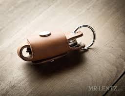 mr lentz leather key holder pocket reduces key noise