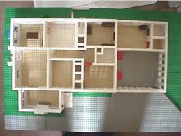 My House    LEGOThis reveals the floor plan and interior of the house