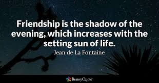 quotes about friendship and life