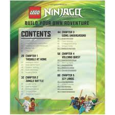 LEGO NINJAGO BUILD YOUR OWN ADVENTURE - THE TOY STORE