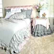 ruffle duvet cover pure linen bedding wamsutta vintage from full bloom cottage queen