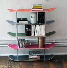 Recycled Skateboard Shelf