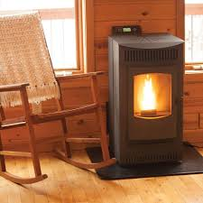 pellet stove with 40 lb hopper and auto ignition