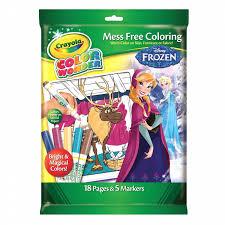 Disney Crayola Color Wonder Coloring Pad Wmarkers Frozen Shop
