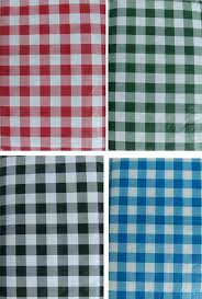 flannel backed vinyl tablecloth back practical gingham check textured inch round 70 backe