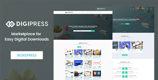 Theme Downloads Digipress Marketplace For Easy Digital Downloads Wordpress Theme