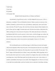 kindred theme analysis her calling back to the past literature 5 pages kindred slavery second paper