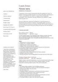 Cv Example For Childcare   Job Application Letter For Job Not ... Cv Example For Childcare Nursery Nurse Cv Template Dayjob