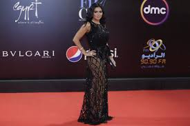 Rania Youssef Dress Designer Egypt Actress Says Revealing Dress Wasnt Meant To Offend