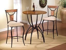Bistro Kitchen Table Sets Pub Table Sets Glass Top Pub Table Sets Perry Grey Metal Pub Set