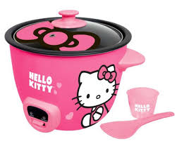 Hello Kitty Rice Cooker  Pink (APP-43209)