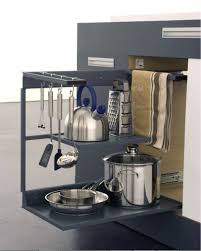 Very Small Kitchens Small Kitchen Appliance Storage Solutions Outofhome