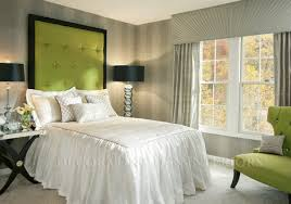 ... Briliant Design Guest Bedroom Retreat Green Gray White Modern Beautiful  And Grey Picture Mint Queen In ...