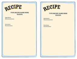 Recipe Template For Word Recipethumbnail X Recipe Templates For Word Xors3d Template 2018