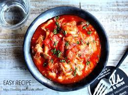 チキン トマト 煮