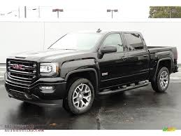 2017 GMC Sierra 1500 SLT Crew Cab 4WD All Terrain Package in Onyx ...