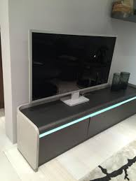 living room tv a center with high efficiency led lighting for a cool mood