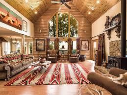 Log cabin interiors designs Cozy Western Log Cabin Interior Design Steel Log Siding 27 Log Cabin Interior Design Ideas Trulog Siding