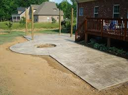concrete patio with fire pit. Awesome Concrete Patio With Fire Pit For Interior Home Addition Ideas A