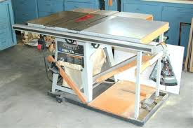 table saw dust bag delta contractors table saw wide x metal bed width extends to dust