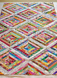 3391 best All about Quilting images on Pinterest | Quilt patterns ... & I like this one a lot because the lighter borders allow the eyes to rest.  Most of the time these types of string quilts are all in ... Adamdwight.com