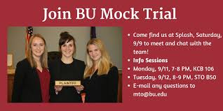 bu mock trial home facebook image contain 3 people people smiling text