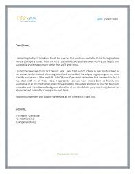 Sample Of A Thank You Letter Thank You Letter To Boss 8 Plus Best Samples And Templates