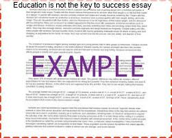 education is not the key to success essay essay academic service education is not the key to success essay