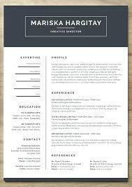 Modern Resume Template Word Magnificent Modern Cv Template Word Free Download Design Modern Creative Free