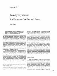 conflicts in the family essay family conflict beyond intractability