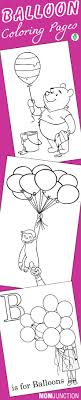 10 Cute Balloon Coloring Pages For