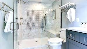 bathrooms shower door water leak frameless leaks at bottom beautiful but think you can escape when