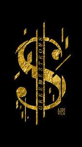 Iphone Gold Money Wallpaper