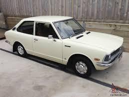 toyota corolla 1974 ke20 2 door 4 sd manual clic retro vine sedan coupe in port