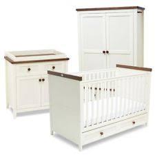 silver nursery furniture. Silver Cross Porterhouse Nursery Furniture Set Warm Ivory And Chocolate Detail