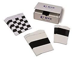 Byk Gardner Byko Chart Plain White Wb Drawdown Charts Box