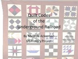 The Underground Railroad UNDERGROUND RAILROAD UNDERGROUND RAILROAD ... & Quilt Codes of the Underground Railroad Adamdwight.com