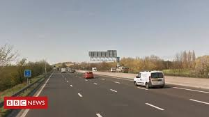 <b>M1</b> reopens after third serious crash in 24 hours - BBC News