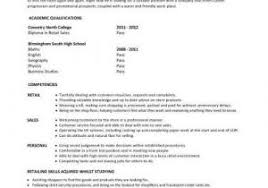 Resume For Beginners With No Experience From Sales Assistant Cv