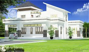 2000 sq ft white contemporary 4 bhk home design home interiors