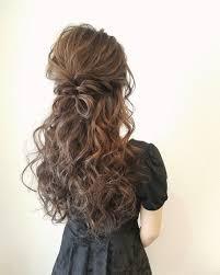 平原さんのヘアスタイル 先日のおよばれヘア画像 Tredina