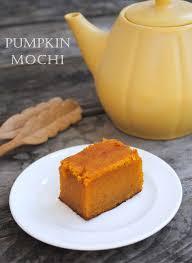 pumpkin mochi it s a cross between mochi and pumpkin pie without the crust