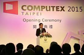 taitra chairman liang kuo hsin opens putex 2018 june 2 in taipei city cna