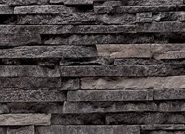 waterproof polyurethane exterior faux stacked stone wall panels fireplace